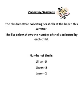 2nd Grade Math Common Core Story Problems Packet