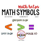 2nd Grade Math Helps - Math Symbols