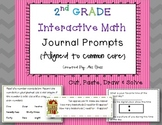 2nd Grade Math Journals & Prompts (Aligned with Common Core)
