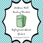 2nd Grade McGraw-Hill Reading Wonders Refrigerator Sheets