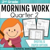 Morning Work for Second Grade Common Core- Set #2 (Second