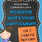 2nd Grade Reading Workshop Curriculum: Unit 2 {Exploring N