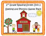 Reading Street 2nd Grade Unit 2 Spelling and Phonics Game