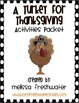 2nd Grade Reading Street Unit 2.5 A Turkey for Thanksgivin