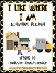 2nd Grade Reading Street Unit 4.4 I Like Where I Am Activity Pack