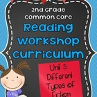2nd Grade Reading Workshop Curriculum:  Unit 5 {Different