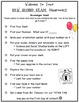 2nd Grade Scavenger Hunt (Open House)