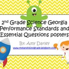 2nd Grade Science Georgia Performance Standards and Essent