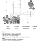 2nd Grade Storytown Vocabulary Crossword Puzzles