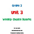 2nd Grade Treasures Unit 3 Choice Board