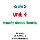 2nd Grade Treasures Unit 4 Choice Board