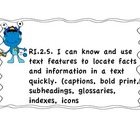 "2nd Grade Unit 1 Common core ""I can.."" objectives"