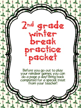 2nd Grade Winter Break Packet