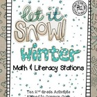 2nd Grade Winter Math & Literacy Stations
