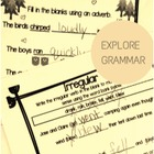 2nd Grd Common Core Grammar MiniBook