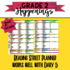 2nd Reading Street Planner