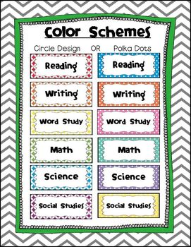 2nd and 3rd Grade Language Arts Common Core Standards Posters