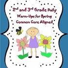 2nd and 3rd Grade Reading and Writing Warm-Ups for Spring