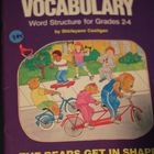 3 Bears Vocabulary Gr. 2-4 Word Structure