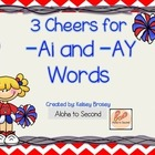 3 Cheers for -AI and -AY