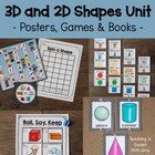 3-D &amp; 2-D Shapes Unit