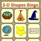 3-D shapes bingo
