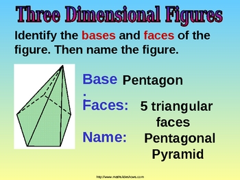 3 DIMENSIONAL FIGURES INTRO a Powerpoint Presentation