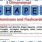3-Dimensional Dominoes and Flashcards Meeting Common Core