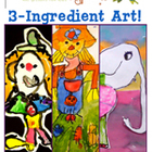 3 Ingredient Art Lessons for Grades 1 & 2