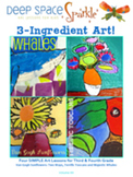 3 Ingredient Art Lessons for Grades 3 & 4