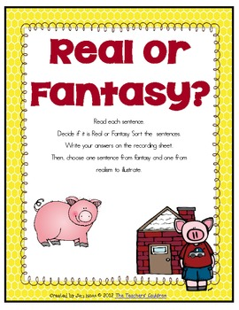 3 Little Pigs Literacy