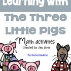 3 Little Pigs Math