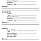 3 Source Bibliography Page