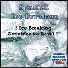 3 Spanish Ice Breakers