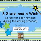 3 Stars and a Wish {peer revision tool}