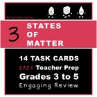 3 States of Matter Task Cards