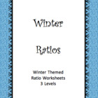 3 Tasks for Holiday themed ratios