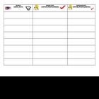 3 (Three) Column Spelling Sheet for file folder or pocket folder