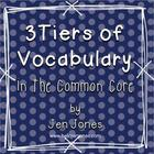 3 Tiers of Words: Understanding Vocabulary Instruction in