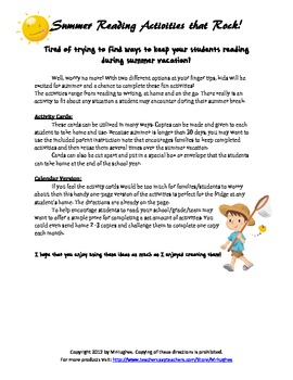 30 Ideas to Keep Kids Reading During Summer Vacation