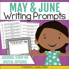 30 May and June Writing Journal Prompts