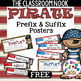 31 Prefix and Suffix Mini Posters with Definitions (Pirate Theme)