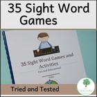 35 Games and Activities to teach Sight Words