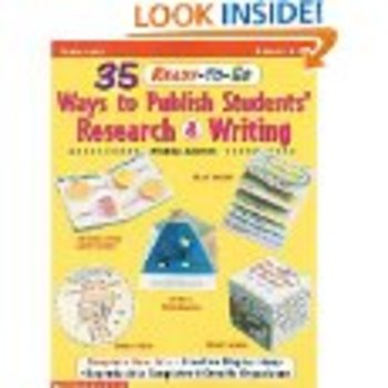 35 Ready To Go Ways to Publish Students's Research & Writing