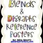 36 Blends &amp; Digraphs Reference Posters - Jungle Theme