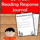 36 Week Reading Response Journal