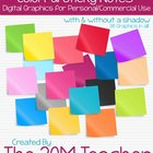 38 Colorful Sticky Notes (Post-It Notes) for Commercial Use
