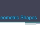 3D Geometric Shapes PwrPt
