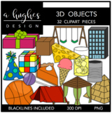 3D Objects {Graphics for Commercial Use}