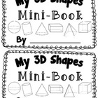 3D Shape Activity {My 3D Shapes Mini-Book} {Common Core Al